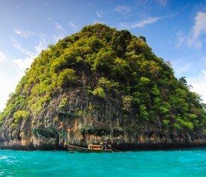 Экскурсия на острова Пхи Пхи + Кхай + Бамбу+ Май Тхон на 1 день