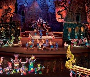 "Cultural-historical show ""Siam Niramit"""