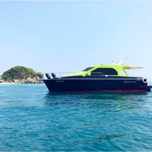 M/Y SPLO 1200  Закат солнца